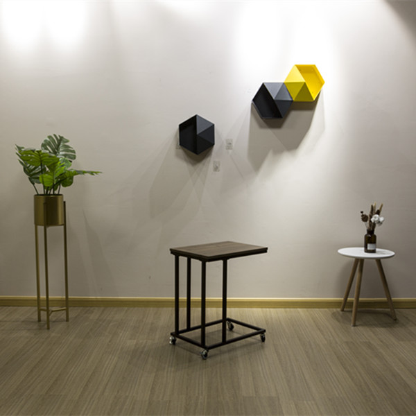 北欧风铁木桌